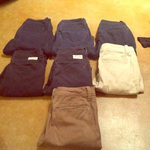 Abercrombie boys shorts size 10 lot!